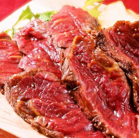 天神のバル【馬肉酒場 バルバニック】の馬肉ステーキ