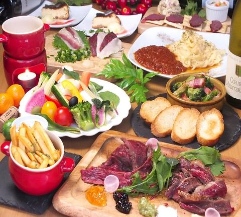 天神にある【馬肉酒場 バルバニック】の馬肉料理づくしなコース